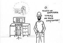 Rodzinny Album Rysunkowy / Przypadki rodzinne spakowane w rysunkach.