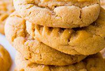 Peanøttsmørcookies