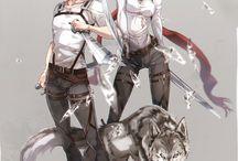 The Ackerman, Levi x Mikasa