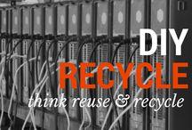 Recycling DIY / A fun way to do recycling!