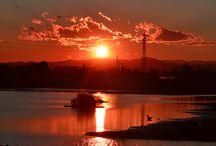 ηλιοβασίλεμα & ανατολή