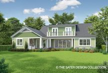 Ranch Home Plans - The Sater Design Collection / The American home architecture scene has been largely shaped by the one-story ranch style home. Whether you are looking for something cozy, like a cottage house plan, or something spacious, like a ranch-style estate home plan, Sater Design Collection can provide one-story house plans that capture your vision, with a unique floor plan you never thought possible.  If you have always thought ranch house plans are all the same, take a look at our selection of unique Ranch Home Plans!