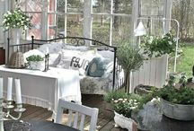Patio shabby