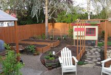 garden/yard ideas / by Marilyn Wiebe
