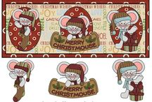 Christmas decoupage / .