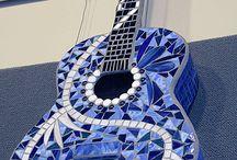 Guitar mosaic