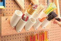 Ideas - Tool & Material Storage / by Acme Twisted Metal Art