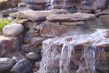 Boulders for waterfall