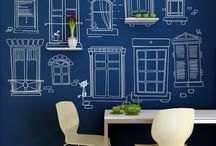 Backdrop-ideas / I think these ideas could make killer party backdrops / by Nunnu