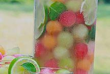 Sommererfrischungsdrink