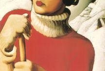 Tamara de Lempicka / Russian artist (1898-1982)