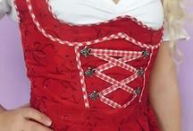 Dirndl Fashion / It's #Wiesn (#Oktoberfest), Baby! #tradition #Bavaria #style #fashion