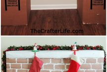 diy fireplace cardboard
