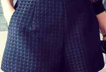 Shorts costura