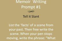 memoir and autobiographical writing