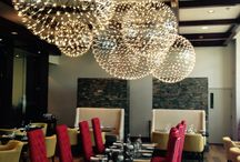 Lighting for Hospitality Spaces / Modern lighting for hotels, restaurants, bars, and lobbies.
