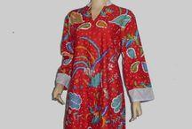 Dress Batik Terbaru Model Resleting Depan [D1300]