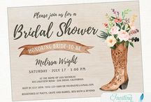 Bridal Shower Invitation / Bridal Shower Invitation by Inviting Invites