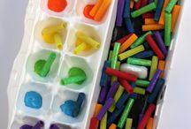 Egg Carton Crafts / Reusing egg cartons for preschoolers!
