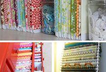Como organizar las telas