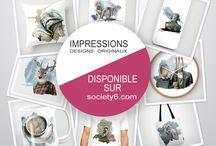 Impressions et produits dérivés - Print and related products