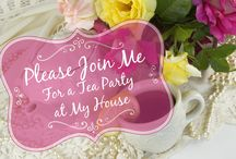 Tea Party at My House / You are invited to a refreshing tea party in my house! For the first time, I am opening my doors for you to come enjoy my gardens, my shop, and my house. Learn about business secrets and life lessons for one day that you are with us! Sounds interesting? Click here to book: http://www.ladybugwreaths.com/southern-tea-party/. Limited seats only!  / by Ladybug Wreaths