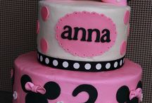 Minnie Mouse Birthday Cake/cake Smash