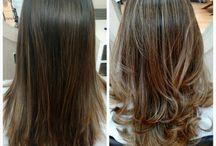 ombré hair / Trabalhos