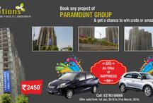 2/3/4 BHK flats at affordable prices / Nestled in the Eco -friendly environment of Noida Extension, Paramount Emotions is beautifully developed for our valued customers. The landscaped area, amenities and spacious flats attribute the uniqueness of this project. Customers can buy 2 BHK, 3 BHK, and 4 BHK flats at affordable prices. the flats are beautfully designed using the advanced technology. http://www.paramount-emotions.in/