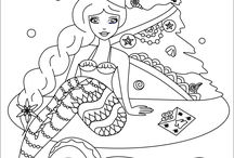 Free coloring pages by me!