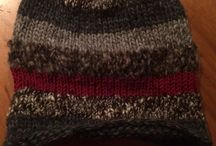 Knitted pieces / Pieces I knitted