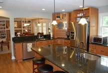 Great Kitchens / Cool kitchens: Great designs, colors, etc.