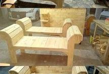 Tremøbler