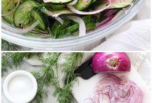 salaty a pomazanky / vsetke salaty a pomazanky