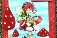 POLKADOODLES IMAGES - Handmade cute girly greeting cards