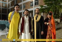 Cultural Heritage Eve at The University of Lahore / Traditional Heritage Eve at The University of Lahore  Lahore Business School (LBS) at The University of Lahore (UOL) organized a Traditional Cultural Eve in Collaboration with Student Representative Office (SRO).