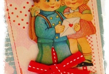 vintage cards / by Betty Fenwick