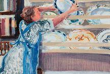 Brita Granstrom / Painter of domestic scenes