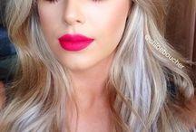 Nude eyeshadow pink lips 01/17