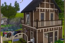 The Sims 3 - Maple Cabin / Download Link - http://www.thesims3.com/assetDetail.html?assetId=5098582