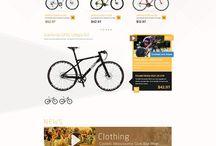 Bike Inspiration / Logos, sites Web, print... Et tout ce qui touche au vélo.