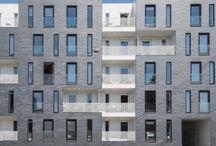 collective housing facade