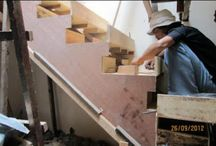 Process of Making Concrete Stairs