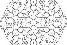 Mandala blomster