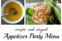 Appetizers and party stuff :)