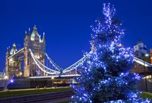 London for the Holidays / London is magical during the holiday season! There's a festive atmosphere everywhere you go. Don't miss the incredible Christmas lights, fun ice skating rinks and, of course, world-class shopping.