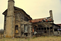 Opuszczone domy.