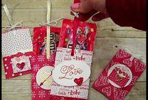 2017 Stampin up Valentines