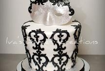 Masquerade themed cakes