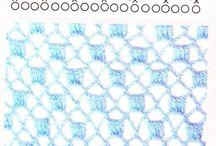 tejidos encontrados por ahi / tejidos